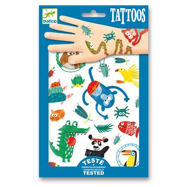 Tetování Djeco V jungli Djeco