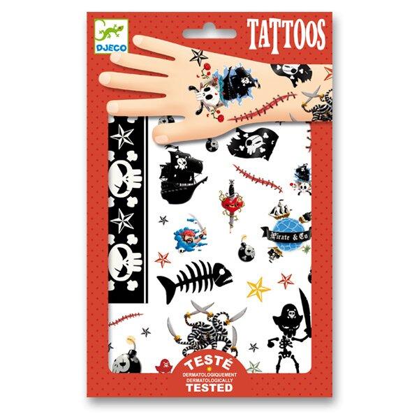 Tetování Djeco Piráti Djeco