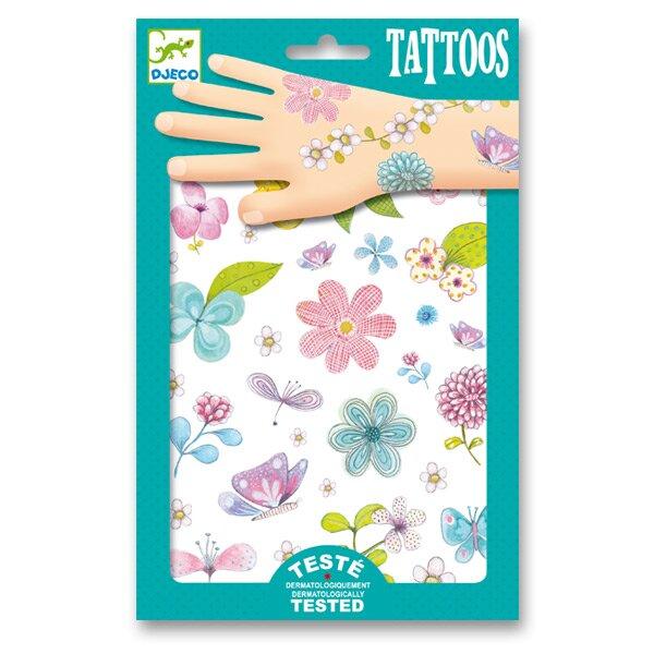 Tetování Djeco Květiny Djeco