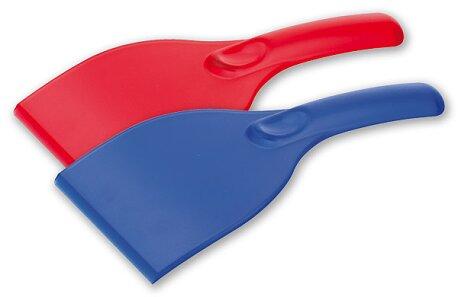 Obrázek produktu Linzi - transparentní škrabka na okna, výběr barev - červená