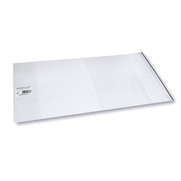 Obal na učebnice univerzální 450 x 250 mm silný, PP, samolepicí