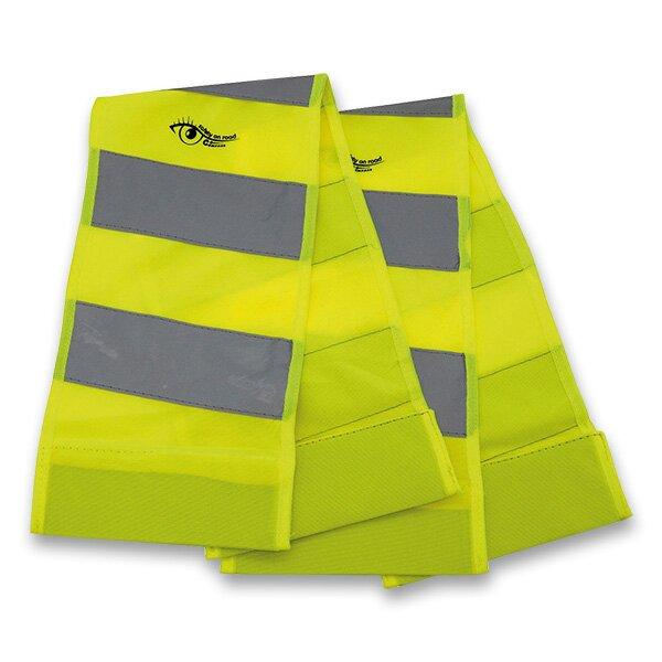 Reflexní pás s magnety žlutá, 2 ks
