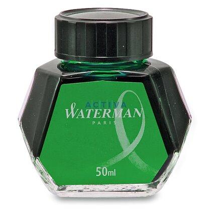 Obrázek produktu Waterman - lahvičkový inkoust - zelený, 50 ml