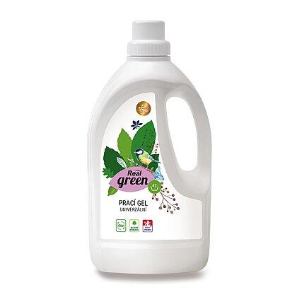 Obrázek produktu Real green clean - ekologické čisticí prostředky - prací gel, 1,5 l