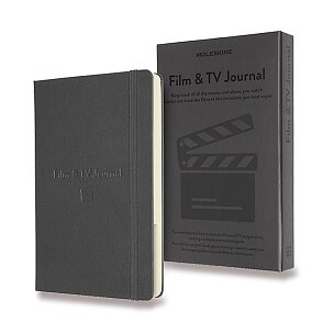 Zápisník Moleskine Passion Film & TV Journal