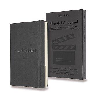 Obrázek produktu Zápisník Moleskine Passion Film & TV Journal - L, šedý