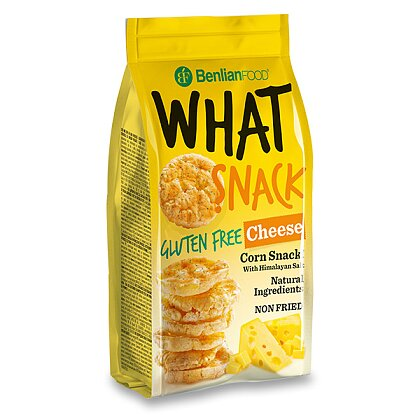 Product image What Snack - Corn sandwiches - Cheese, 50 g
