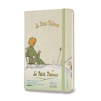 Obrázek produktu 18měsíční diář Moleskine 2020-21 Le Petit Prince, tvrdé desky - S, týdenní, Planeta