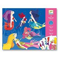 Origami skládačka Djeco - Mořské panny
