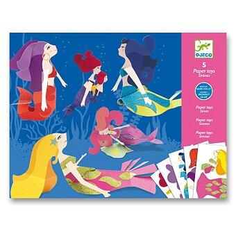 Obrázek produktu Origami skládačka Djeco - Mořské panny