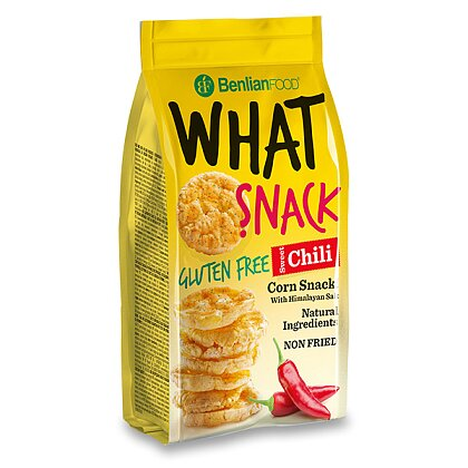 Product image What Snack - Corn sandwiches - Sweet Chilli, 50 g
