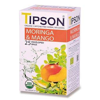 Obrázek produktu Bylinný čaj Tipson BIO Moringa & Mango - 25 sáčků