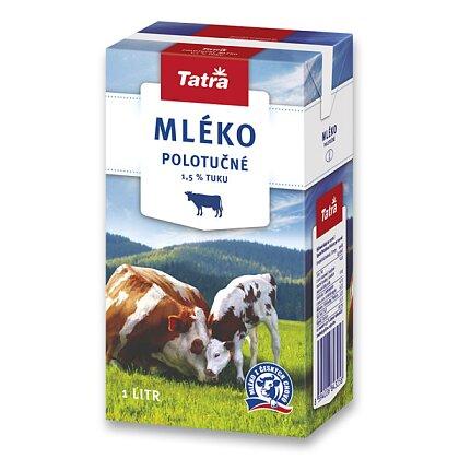 Obrázek produktu Tatra - trvanlivé mléko - polotučné 1,5%, 1 l