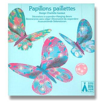 Obrázek produktu Závěsná dekorace Djeco - Motýli