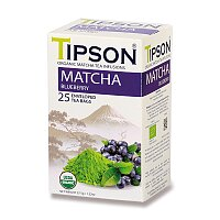 Zelený čaj Tipson BIO Matcha Borůvka