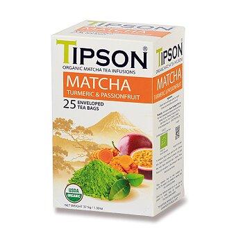 Obrázek produktu Zelený čaj Tipson BIO Matcha Turmeric & Passion Fruit - 25 sáčků