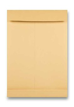 Obrázek produktu Obálka Clairefontaine E4 - samolepicí, dno 40 mm, hnědá