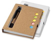 Reveal - blok s kuličkovou tužkou, výběr barev