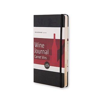 Obrázek produktu Zápisník Moleskine Passion Wine Journal - tvrdé desky - L, černý