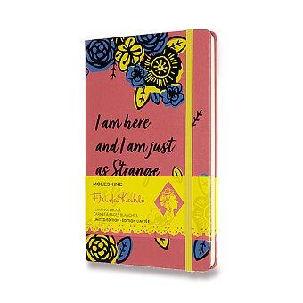 Obrázek produktu Zápisník Moleskine Frida Kahlo - tvrdé desky - L, čistý, růžový