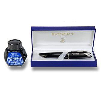Obrázek produktu Waterman Carène Black Sea ST - sada plnicí pero a kuličková tužka s inkoustem