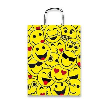 Obrázek produktu Dárková taška Emoji - různé rozměry
