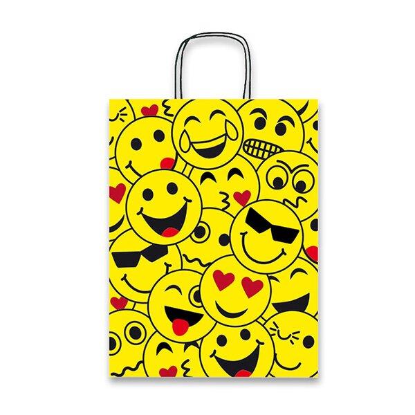 Dárková taška Emoji 160 x 80 x 210 mm