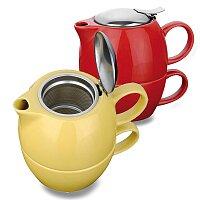 Cole - keramická čajová sada, výběr barev