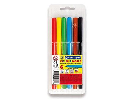 Obrázek produktu Fixy Centropen 7550/6 Colour World - 6 barev
