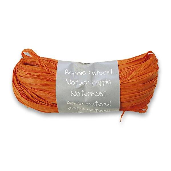 Dárkový provázek Clairefontaine oranžový