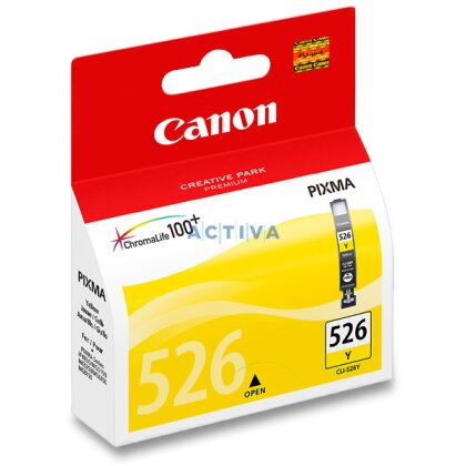 Obrázek produktu Canon - cartridge CLI-526, yellow (žlutá) pro inkoustové tiskárny
