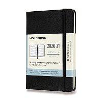 18měsíční diář Moleskine 2020-21 - tvrdé desky