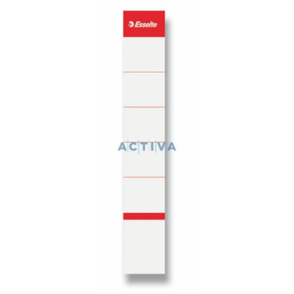 Product image Esselte - Spare labels for lever arch files