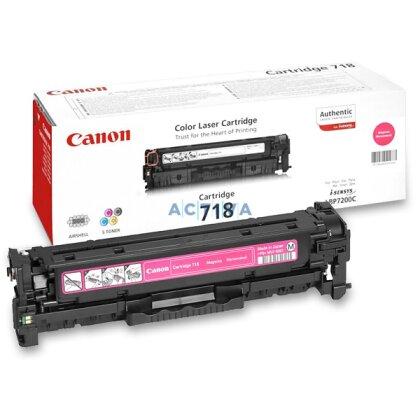 Obrázek produktu Canon - toner CRG-718, magenta (červený) pro laserové tiskárny