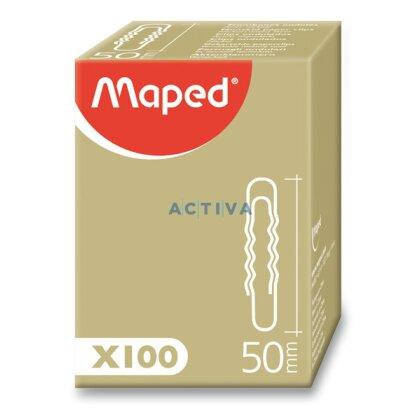Obrázek produktu Maped - kancelářské ocelové sponky - 50 mm, 100 ks