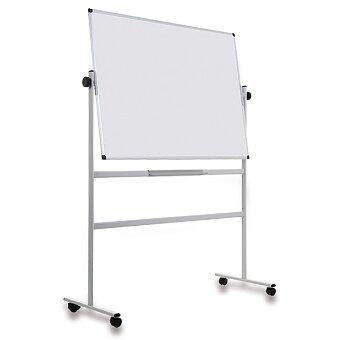 Obrázek produktu Oboustranná magnetická bílá tabule na stojanu - výběr rozměrů
