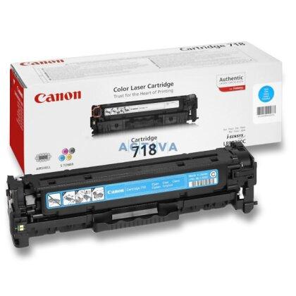 Obrázek produktu Canon - toner CRG-718, cyan (modrý) pro laserové tiskárny