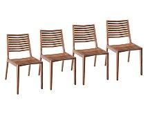 Set 4ks židlí Zeitraum Gap