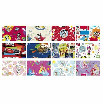 Obrázek produktu Dárkový balicí papír Walt Disney - 2 x 0,7 m, mix motivů