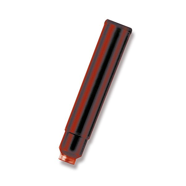 Inkoustové bombičky Faber-Castell červené