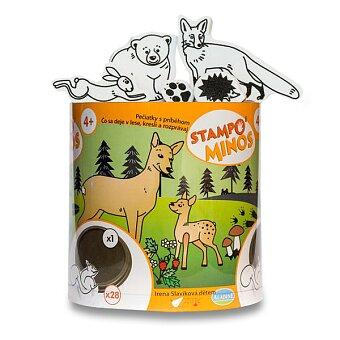 Obrázek produktu Razítka Aladine Stampo Minos - Lesní zvířátka