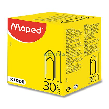 Product image Maped Medium Clips - Office steel clips - 25 mm