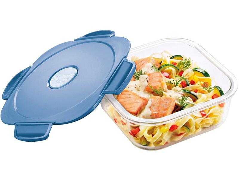 Box Maped Picnik Concept Adults je vyrobený z odolného borosilikátového skla, můžete v něm ohřívat jídlo i v troubě