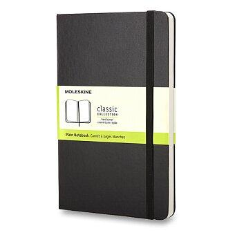 Obrázek produktu Zápisník Moleskine - tvrdé desky - S, čistý, černý