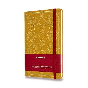 Obrázek produktu Zápisník Moleskine Rok Buvola - tvrdé desky - L, čistý, žlutý