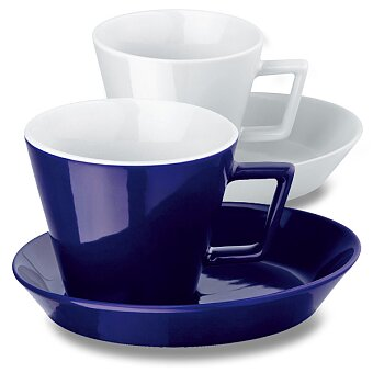 Obrázek produktu Claude - keramický šálek s podšálkem, výběr barev