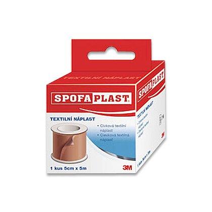 Obrázek produktu 3M Spofaplast - textilní náplast - cívková 5 cm x 5 m