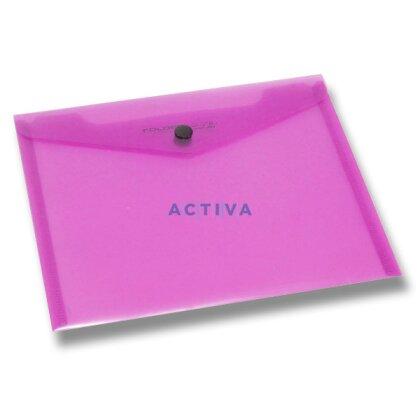 Obrázek produktu Foldermate Carry File - spisovka s drukem A5 - červená