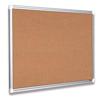 Obrázek produktu Korková tabule v hliníkovém rámu Bi-Office New Generation Maya - výběr rozměrů