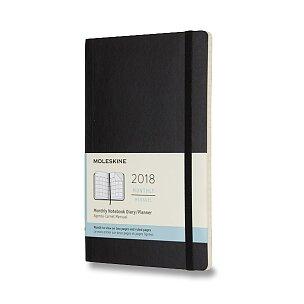 Diář Moleskine 2018 - měkké desky